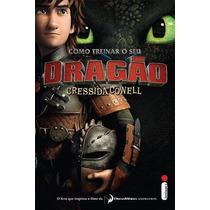Livro - Como Treinar O Seu Dragão (capa Do Filme) #