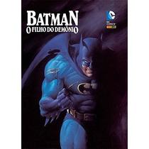 Livro Batman O Filho Do Demônio - História Em Quadrinhos Hqs