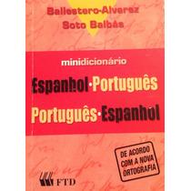 Minidicionário Espanhol-português Português-espanhol