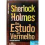 Livro Sherlock Holmes - Um Estudo Em Vermelho