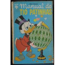 Manual Do Tio Patinhas 1ªedição Julho/1972 Editora Abril