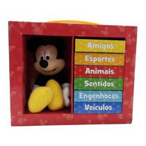 Livro Aprenda Com Mickey Disney Editora Melhoramentos