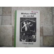 Livro Minhas Rimas De Cordel