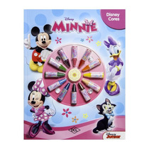 Livro: Disney Cores: Minnie Disney Original Dcl