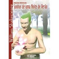 Livro Col. Clássicos Universais Sonhos De Uma Noite De Verão