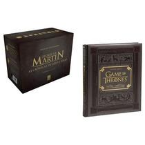 Kit Box As Crônicas D Gelo E Fogo + Guia Hbo Game Of Thrones