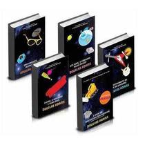 5 Livros Coleção Guia Mochileiro Das Galaxia - Frete Grátis