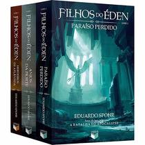 Kit Livros Coleção Filhos Do Éden (3 Livros) Lacrados