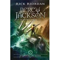 Livro Percy Jackson Vol 1 Ladrão De Raios Lacrado