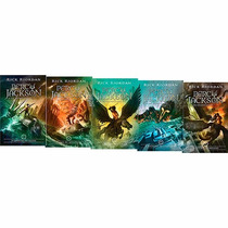 Livro - Box Percy Jackson E Os Olimpianos (5 Volumes) Novos