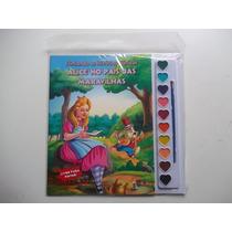 Livro Aquarela Hist. Clássicas Alice No País Das Maravilhas