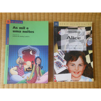 2 Livros Alice No País Das Maravilhas E As Mil E Uma Noites