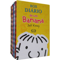 Box - Diário De Um Banana - 7 Livros - Jeff Kinney - Lacrado