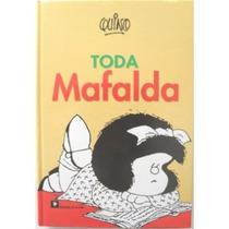 Livro Toda Mafalda- Autor Quino Importado (em Espanhol)