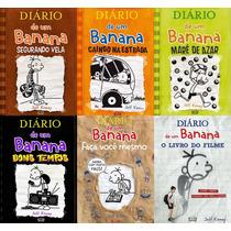Diário De Um Banana Do 7 Ao 10 + 2 Livros