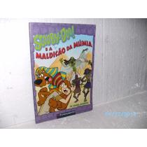 Livro Scooby Doo Maldição Da Múmia Ed. Fundamento Hanna Barb
