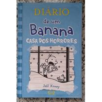 Livro Diário De Um Banana - Casa Dos Horrores