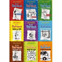 Diario De Um Banana - 8 Livros - Capa Dura - Jeff Kenney