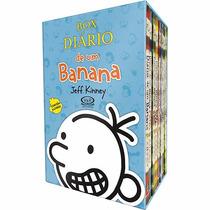 Box Diário De Um Banana Jeff Kinney 8 Livros - Frete Grátis