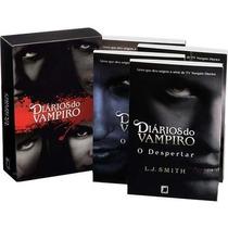 Box Diários De Vampiros Com 4 Volumes ( Do 1 Ao 4) - Lacrado