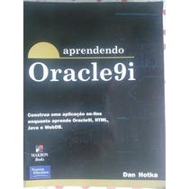 Livro Aprendendo Oracle 9i Editora Makron, Dan Hotka, Portug