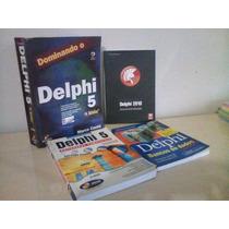 Kit De Estudos Sobre Programação Delphi - 4 Livros