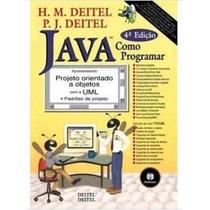 Livro Java Como Programar 4ª Edição H. M. Deitel Usado