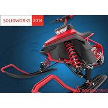 Soldworks Premium 2012, 2013 Ou 2014 Em Português + Curso