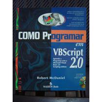 Livro Como Programar Em Vb Script - Visual Basic Microsoft