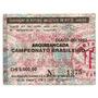 Ingresso 1992 Fluminense X Guarani 03/05