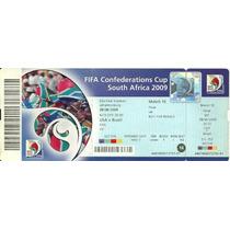 Ingresso Copa Confederações 2009 Usa X Brasil Final *