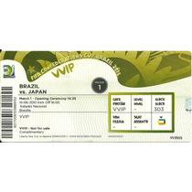 Ingresso Copa Confederações 2013 Brasil X Japão 15/06