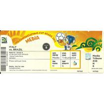 Ingresso Copa Confederações 2013 Italia Vs Brasil 22/06