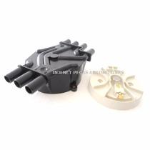 Kit Rotor E Tampa Do Distribuidor Blazer S10 4.3 V6 Vortec