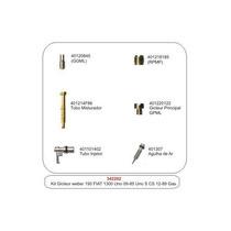 Kit Giclagem Carburador Webber Simples190 Uno Gas 342202
