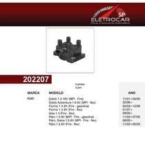 Bobina De Ignição Fiat Doblo 1.3 16v, 1.8 8v 01 Em Diante