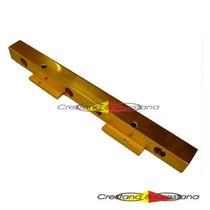 Flauta Billet Interna De Combustível Dourada P Motores Ap Mi