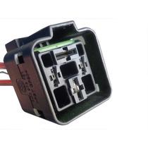 Plug Chicote Soquete Rele Ventoinha Radiador Motor Partida