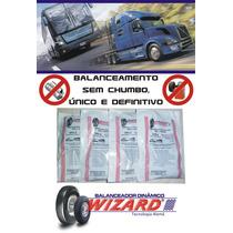 Balanceamento Sem Chumbo Ônibus Neobus Roda 295/80 Aro 22.5