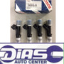 Kit 4 Bico Injetor Bosch Original Ford Fusion 2.5 Duratec