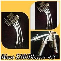 Bico Injetor Aranha Original S10 Blazer 4.3 V6 Kit Completo
