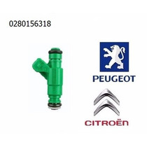 Bico Injetor Peugeot 206 307 Citroen C3 C4 Xsara 0280156318