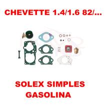 Kit Reparo Carburador Chevette 1.4/1.6 Gasolin Solex Simples