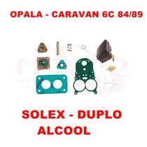 Kit Reparo Carburador Opala/caravan 84/89 Alc Solex Duplo