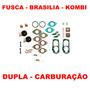 Kit Reparo Carburador Fusca/brasilia/kombi Solex Duplo