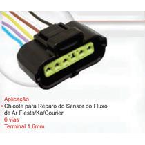 Chicote Plug 6 Vias Sensor Fluxo Ar Ford Ka Fiesta Courier