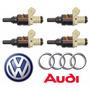 4 Bico Injetor Vw Golf Bora 1.8 Audi A3 1.8 06a906031h Novos