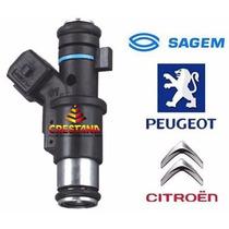 Bico Injetor C3 / Peugeot 206 1.4 8v. 01f002a Sagem - Novo
