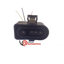 Chicote Plug Conector Sonda Lambda Gol/parati Mi/kombi Nova