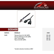 Sonda Lambda Fiat Tipo 1.6, 2.0 8v, 16v 94 Á 97 (sensor De O